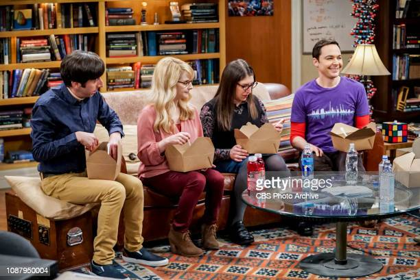 'The Meteorite Manifestation' Pictured Howard Wolowitz Bernadette Amy Farrah Fowler and Sheldon Cooper Sheldon is thrilled to help Bernadette and...