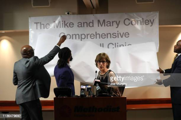 The Methodist Healthcare Comprehensive Sickle Cell Center announce the new name of center to The Mike and Mary Conley Comprehensive Sickle Cell...