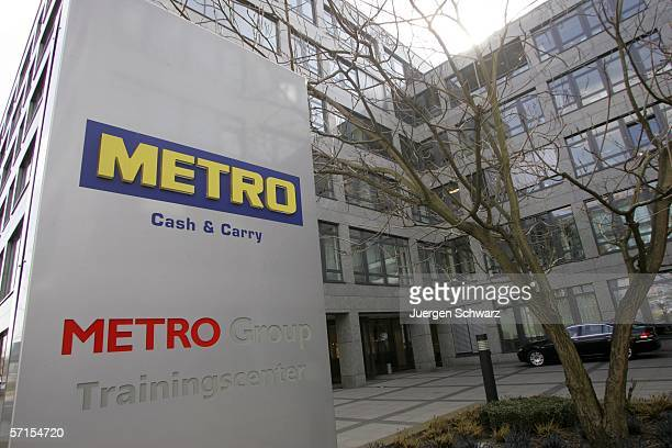 The Metro Group headquarters is seen on March 22 2006 in Duesseldorf Germany CEO HansJoachim Koerber reported sales in the fiscal year 2005 up 42...
