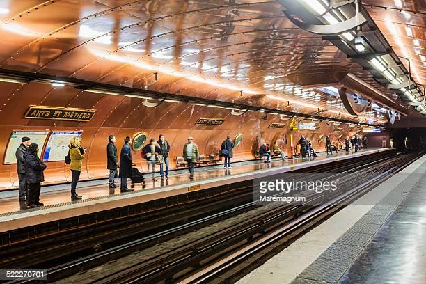 The Metro (Underground) Station, Arts et Metiers