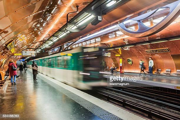 The Metro (Underground) Station Arts et Metiers