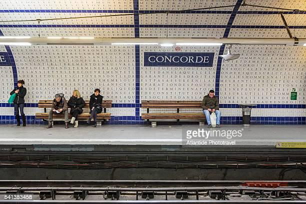 The Metro (Underground) Station Concorde