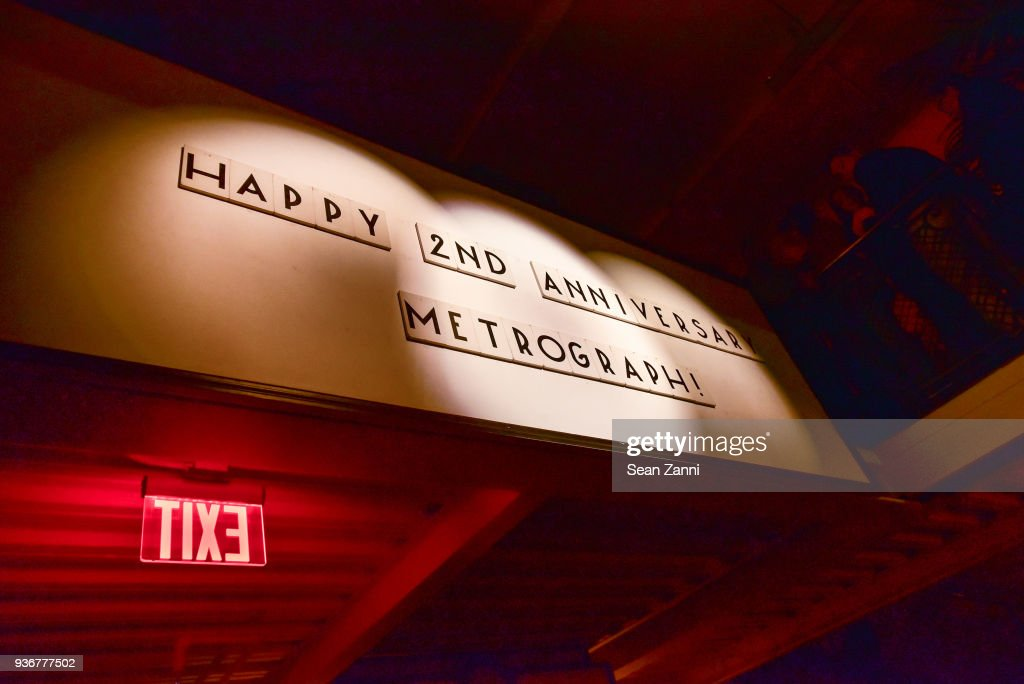 Metrograph nd anniversary party photos and images getty images