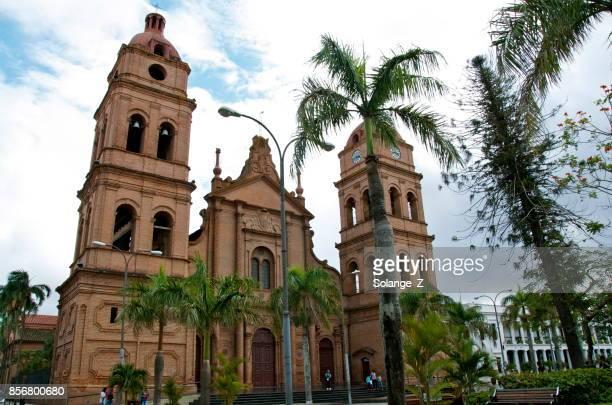 la catedral metropolitana basílica de san lorenzo en bolivia - santa cruz de la sierra bolivia fotografías e imágenes de stock
