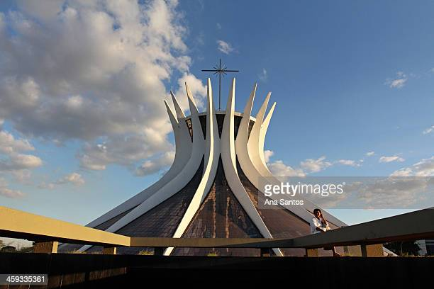 The Metropolitan Cathedral of Our Lady Aparecida , also known as The Cathedral of Brasilia, was designed by Oscar Niemeyer and is the Roman Catholic...