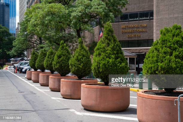 The Metropolitan Correctional Facility where Jeffrey Epstein was found dead in his jail cell is seen on August 10 2019 in New York City The financier...