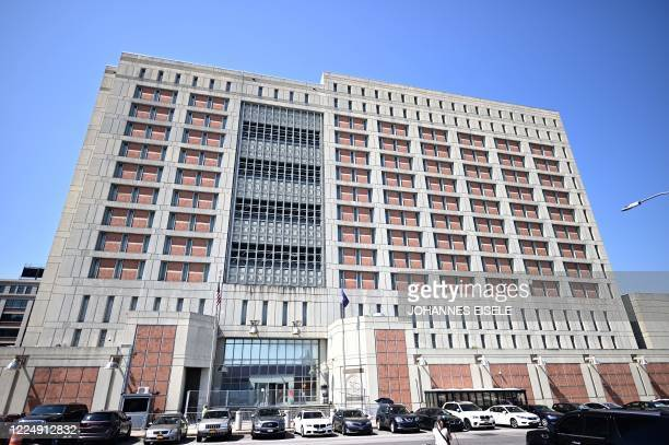 The Metropolitan Detention Center, in Brooklyn, a United States federal administrative detention facility is pictured on July 6, 2020 in New York...