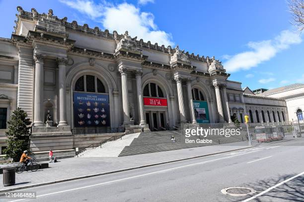 The Metropolitan Museum of Art is temporarily closed due the spread of the coronavirus on April 2, 2020 in New York City. Across the country schools,...