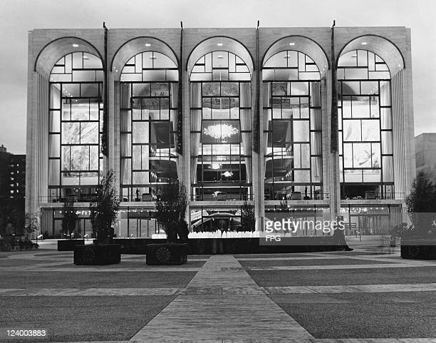 The Metropolitan Opera House at the Lincoln Center for the Performing Arts New York City circa 1965