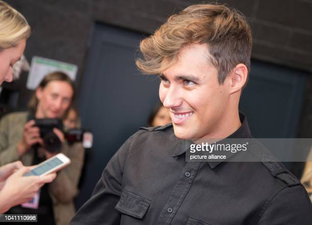 The Mexican actor Jorge Blanco at a photocall on the occasion of the the cinema release of 'Tini The Movie' at Cafe Moskau in Berlin Germany 16...
