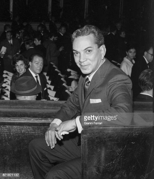 The Mexican actor Mario Moreno 'Cantinflas' Madrid Spain