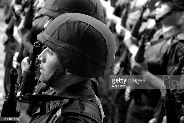 CONTENT] The Mexican military take part in the Independence Day parade in Oaxaca City Oaxaca Mexico 2005