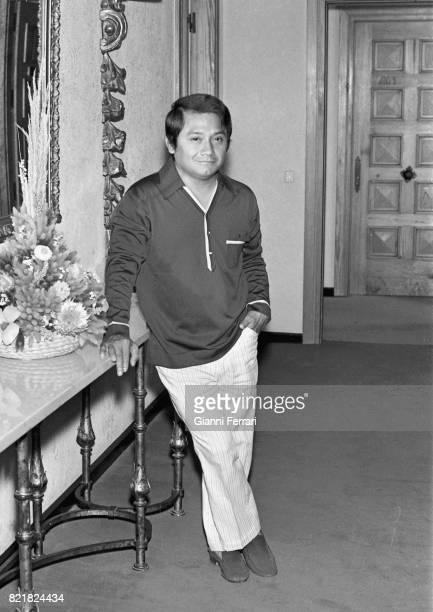 The Mexican Singer Armando Manzanero Madrid Spain
