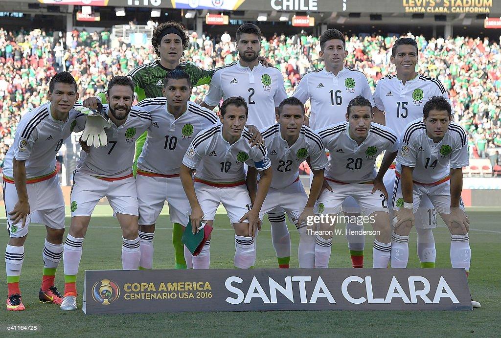 Mexico v Chile: Quarterfinals - Copa America Centenario : News Photo