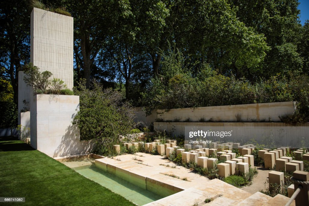 The 'M&G Garden 2017' on display at the Chelsea Flower Show on May 22, 2017 in London, England. The prestigious Chelsea Flower Show, held annually since 1913 in the Royal Hospital Chelsea grounds, is open to the public from the 23rd to the 27th of May, 2017.
