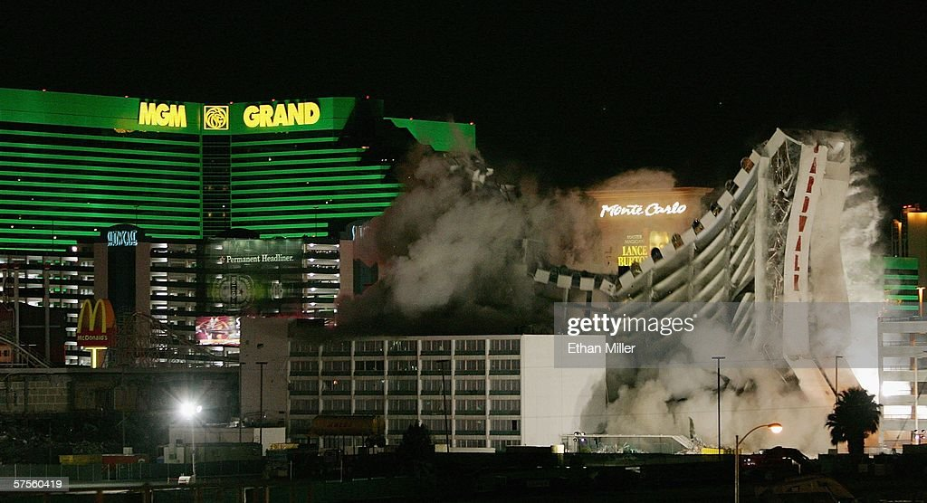 Imploded Las Vegas Hotels And Casinos