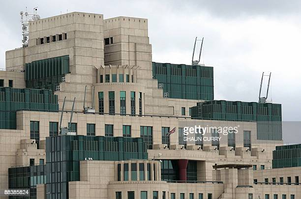The MI6 building which is the SIS headquarter is pictured at Vauxhall Cross in central London on March 3 2009 AFP PHOTO/Shaun Curry