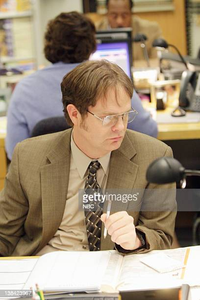 THE OFFICE The Michael Scott Paper Company Episode 21 Pictured Rainn Wilson as Dwight Schrute