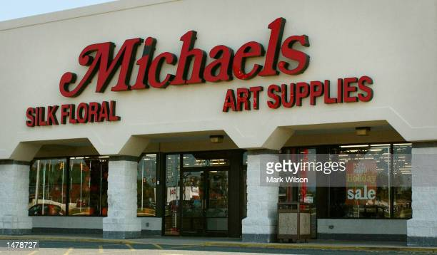 The Michael's Craft Store, where a women was shot and wounded, is shown October 12, 2002 in Fredricksburg, Virginia.