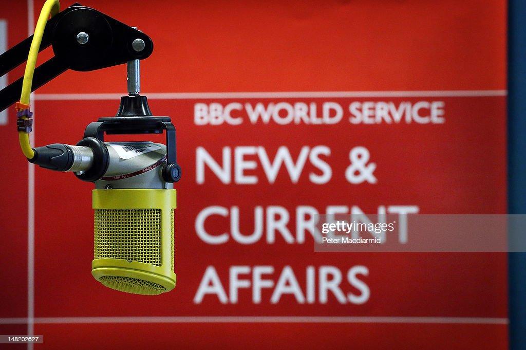 BBC World Service Moves Home : News Photo