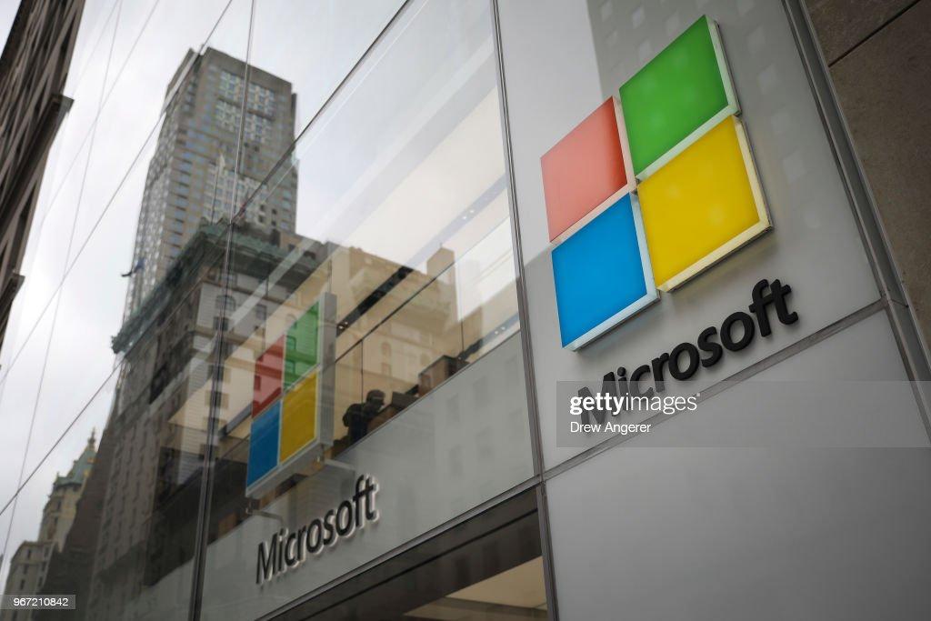 Microsoft Acquires GitHub For 7.5 Billion : News Photo