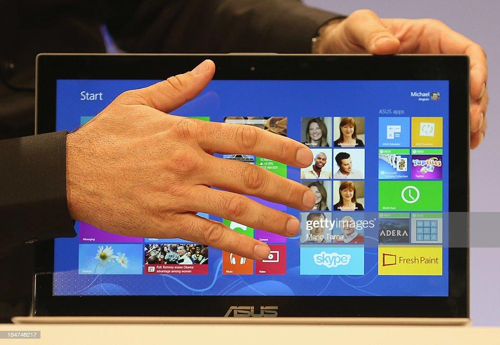 Microsoft Unveils Windows 8 : News Photo