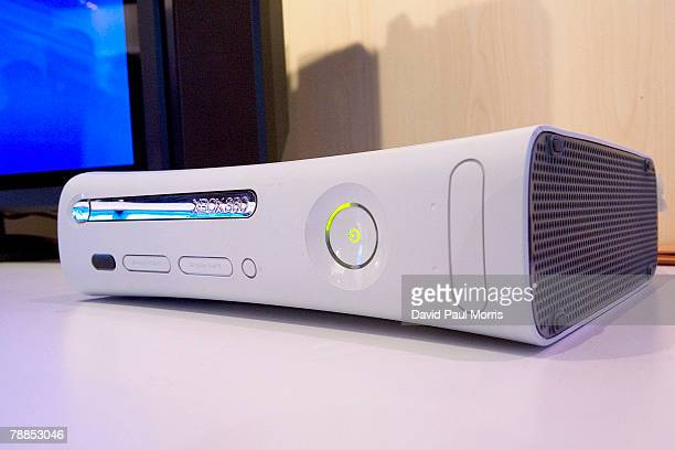 The Microsoft XBOX 360 is seen at the 2008 International Consumer Electronics Show at the Las Vegas Convention Center January 9, 2008 in Las Vegas,...