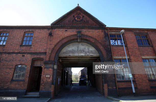 The Middleport Pottery name is displayed above the entrance on March 27 2012 in StokeonTrent England The historic Middleport Pottery Britain's last...