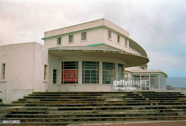 The Midland Hotel Morecambe Lancashire 1999 Opened in 1933 the Midland Hotel was designed by Oliver Hill in Art Deco style for the London Midland and...
