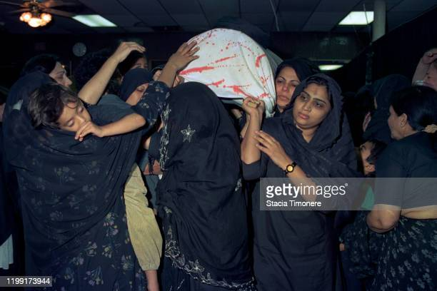 The Midwest Association of Shia Organized Muslims celebrate The Day of Ashura at their mosque on June 21 1993 on the Northwest side of Chicago...