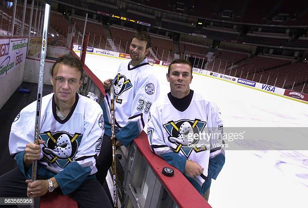 The Mighty Ducks acquired Fredrik Olausson Petr Sykora and Adam Oates to improve the Ducks offense especially the power play Photo taken on Wed Oct 9...