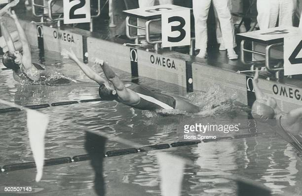 The mighty mouse is offElaine Tanner in flashing start for more panam gold Elaine set her second world record of Games and won her second gold medal...