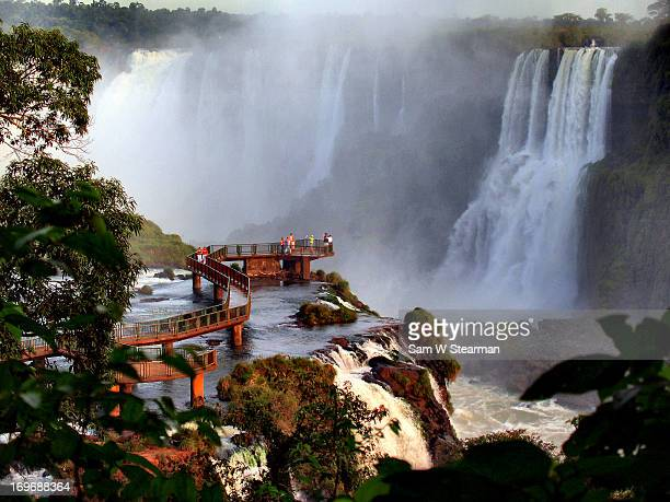 The Mighty Waters of  Foz do Iguacu