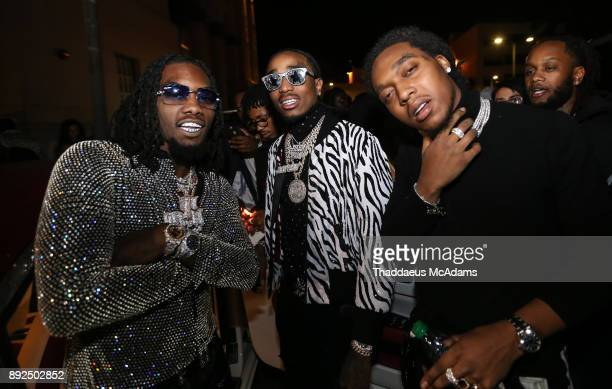 The Migos Offset Quavo Takeoff at The MacArthur on December 13 2017 in Los Angeles California