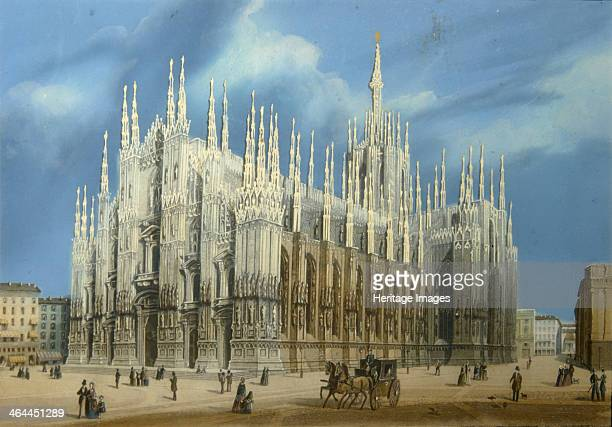 The Milan Cathedral 1860s Found in the collection of the Regional A Deineka Art Gallery Kursk