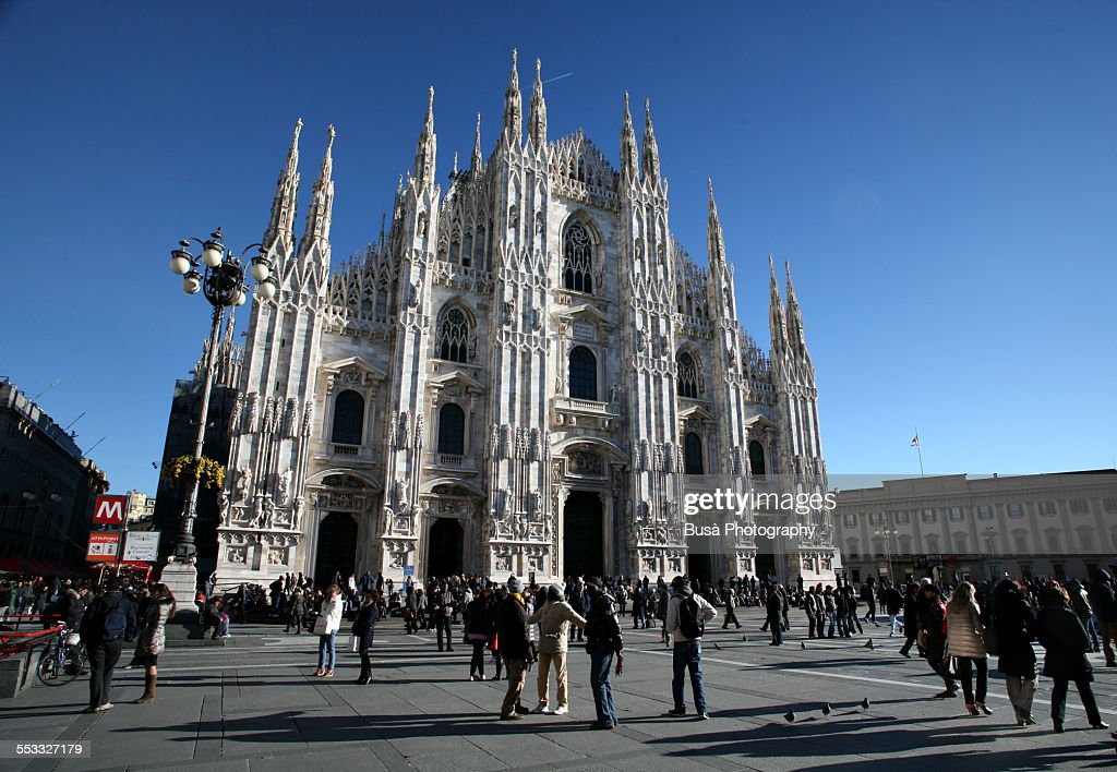The Milan Cathedral : Foto de stock