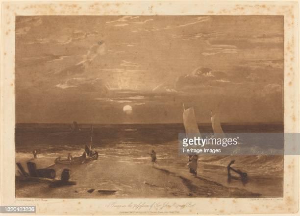 The Mildmay Sea-Piece, published 1812. Artist JMW Turner.