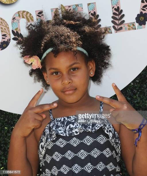 The Miles Girls arrive for Clubhouse Kidchella held at Pershing Square on April 6 2019 in Los Angeles California