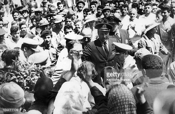 The military governor of Istanbul Refik TULGA on June 3 1960 following a coup d'etat After the army's coup d'etat on May 27 Prime Minister Adnan...