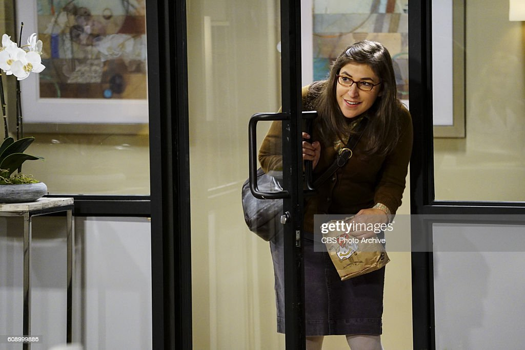 'The Military Miniaturization' -- Pictured: Amy Farrah Fowler (Mayim Bialik). Colonel Williams (Dean Norris), an Air Force representative from the Department of Material Command sits down to talk with Wolowitz, on THE BIG BANG THEORY, Monday, Sept. 26 (8:00-8:30, ET/PT), on the CBS Television Network.