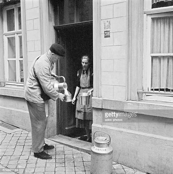 The milkman In 1948