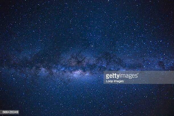 The Milky Way as seen from the French island of Reunion in the Indian Ocean