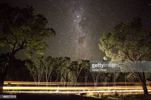 The Milky Way by the roadside.