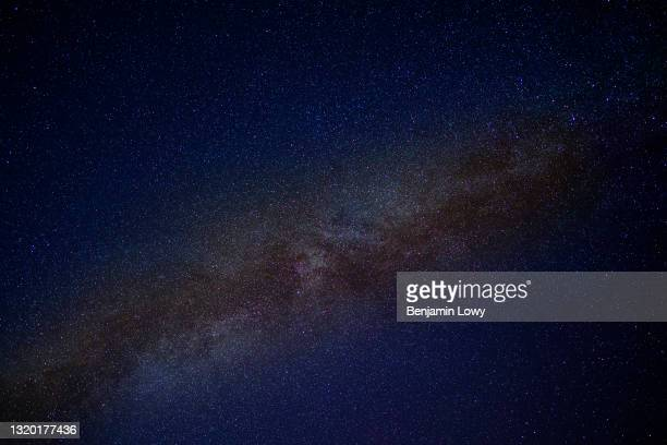 December 13, 2019: The Milky Way Galaxy as seen from Cabo Pulmo National Marine Park in Mexico.Bahía Pulmo is home to the oldest of only three coral...