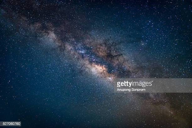 The milky way in the galaxy