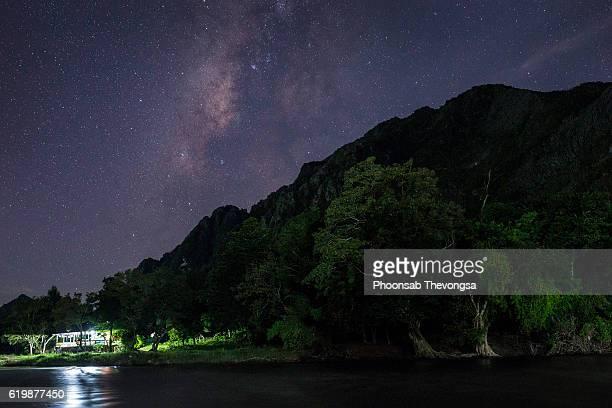 The Milky Way in Vangvieng