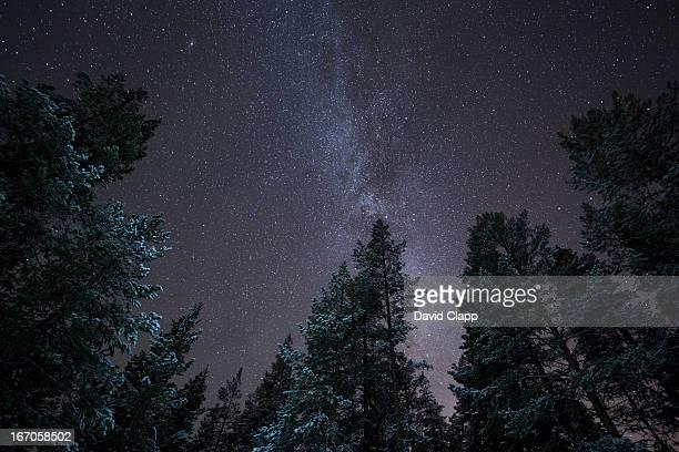 The Milky Way, Kiruna, Sweden, Scandinavia