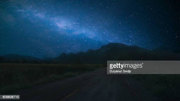 The Milky Way on the road