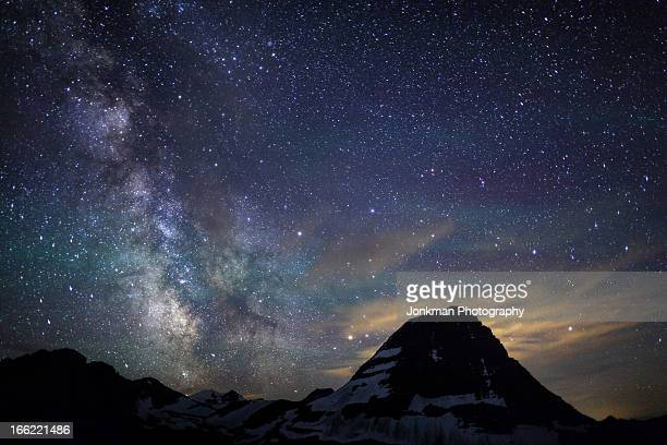 The Milky Way Over Bear Hat Mountain