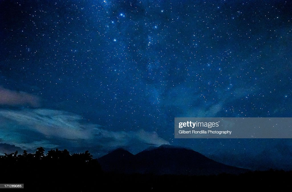 The Milky Way over Mt. Banahaw de Lucban : Photo